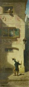 The Begging Musician, ca. 1884 by Carl Spitzweg