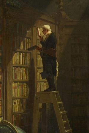 The Bookworm, C. 1850