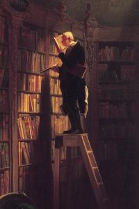 The Bookworm by Carl Spitzweg