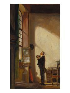 The Clerk, about 1850 by Carl Spitzweg