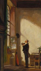 The Clerk, about 1850 by Carl Spitzweg
