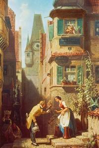 The Eternal Bridegroom, about 1855/58 by Carl Spitzweg
