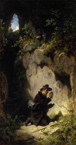 The Mineralogist, about 1860 by Carl Spitzweg