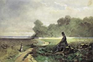 The Sunday Hunter by Carl Spitzweg