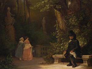 The Widower, 1844 by Carl Spitzweg