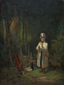 The Would Be Sportsman, about 1845 by Carl Spitzweg