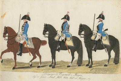 Carl Von Huyne's Dragoner Regiment, Hesse-Cassel, C.1784-J. H. Carl-Giclee Print