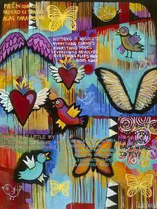 Birds Hearts Butterflies by Carla Bank