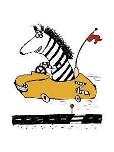 Zippy Zebra by Carla Martell