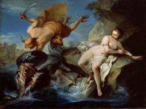 Perseus and Andromeda, 17th Century by Carle van Loo