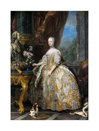 Portrait of Marie Leszczynska, Queen of France (1703-176)