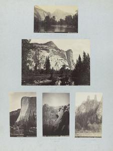 Cinq vues de Californie by Carleton Emmons Watkins