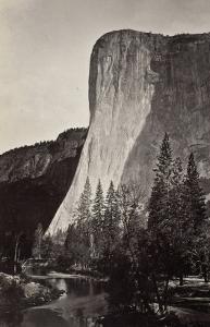 El Capitan, Yosemite, Californie by Carleton Emmons Watkins