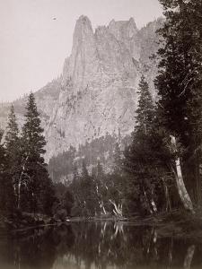 Grand paysage Yosemite, Californie (USA) by Carleton Emmons Watkins