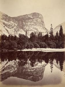 Mirror Lake, Yosemite Valley, Usa, 1861-75 by Carleton Emmons Watkins