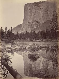 Mirror View of El Capitan, Yosemite, Usa, 1872 by Carleton Emmons Watkins