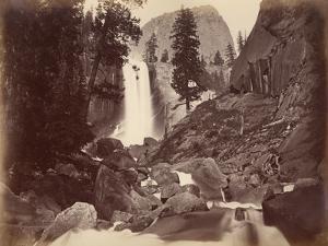 Privy at Vernal Face, Yosemite, Usa, 1861-75 by Carleton Emmons Watkins