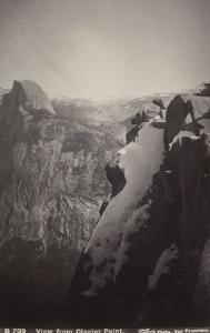 Vue générale de Glacier Point, Yosemite by Carleton Emmons Watkins