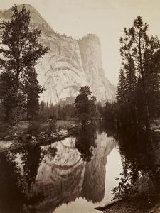 Washington Column, Yosemite, C.1866 by Carleton Emmons Watkins