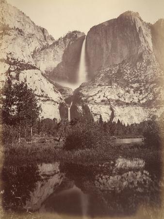 Yosemite Falls, Usa, 1861-75