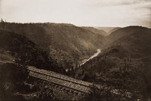 Cape Horn, C.P.R.R., Nevada County, California, about 1880 by Carleton Watkins