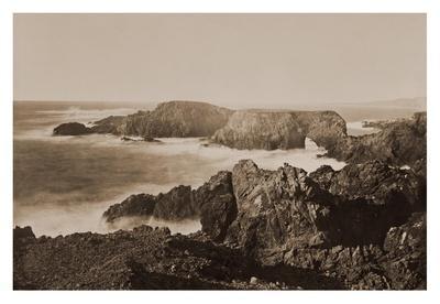 Coast View off Mendocino, California, 1863