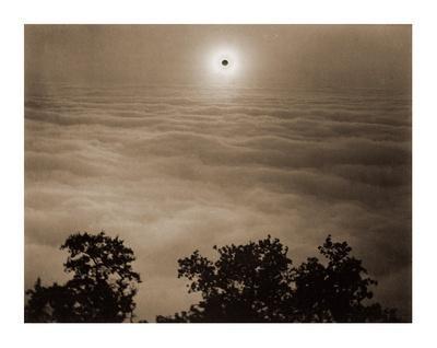 Solar Eclipse from Santa Lucia Range, California, January 1, 1889