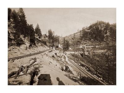 View on Lake Tahoe, California, 1877