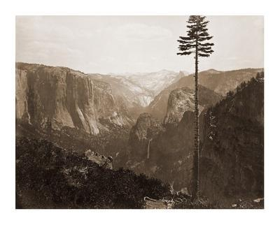 Yosemite Valley from the Best General View, 1866