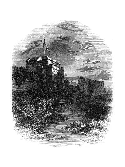 Carlisle Castle, Carlisle, Cumbria, 19th Century- Bale & Hulman-Giclee Print
