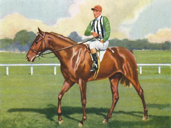 Carlisle, Jockey: B. Carslake', 1939-Unknown-Giclee Print