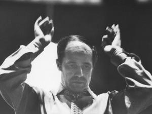 Conductor Pierre Boulez, Newly Ordained Music Director of the New York Philharmonic by Carlo Bavagnoli