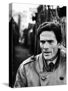 Director Piero Paolo Pasolini by Carlo Bavagnoli