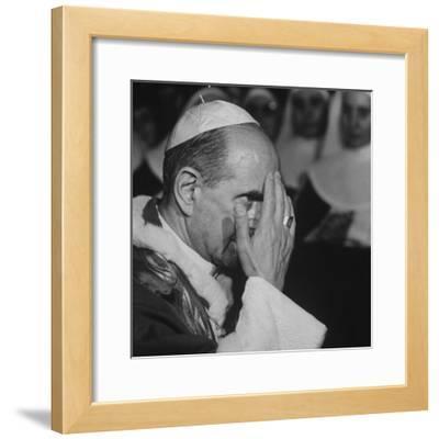 Pope Paul Vi, Officiating at Ash Wednesday Service in Santa Sabina Church