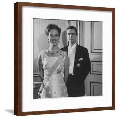 Princess Margrethe II and Her Husband Prince Henrik