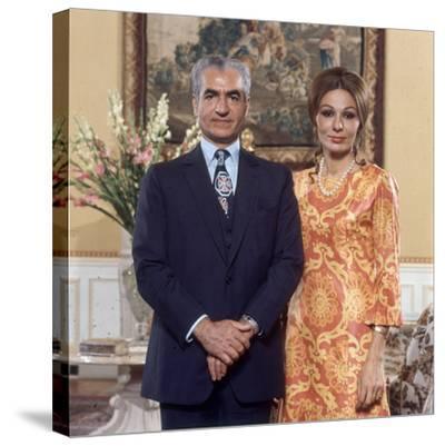 Shah of Iran Mohammad Reza Pahlavi and Wife Farah, 2500th Anniversary of Persia, Persepolis