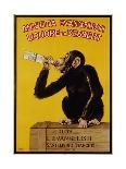 Anisetta Evangelisti Liquore Da Dessert Poster-Carlo Biscaretti Di Ruffia-Mounted Giclee Print