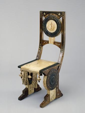 Art Nouveau Style Chair, Ca 1902