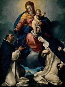 Our Lady of the Rosary by Carlo Ceresa
