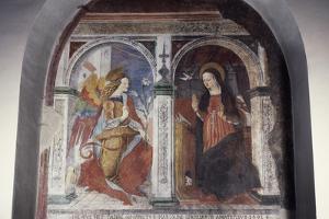 Annunciation, 1491 by Carlo Crivelli
