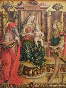 La Madonna della Rondine, after 1490 by Carlo Crivelli