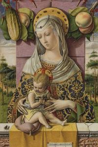 Madonna and Child, c.1480 by Carlo Crivelli
