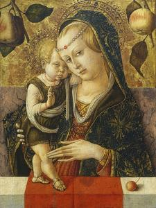 Madonna and Child, C. 1490 by Carlo Crivelli