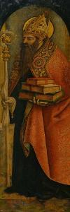 Saint Augustine, 1480S by Carlo Crivelli