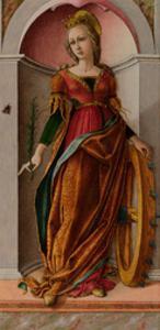 Saint Catherine of Alexandria by Carlo Crivelli