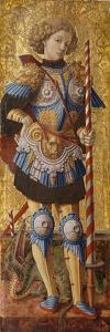 Saint George, 1472 by Carlo Crivelli
