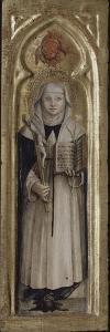 Sainte Catherine de Sienne by Carlo Crivelli