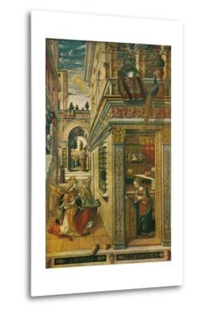 The Annunciation, with Saint Emidius, 1486, (1911)