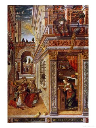 The Annunciation with St. Emidius, 1486