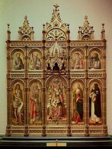 The Demidoff Altarpiece, 1476 by Carlo Crivelli